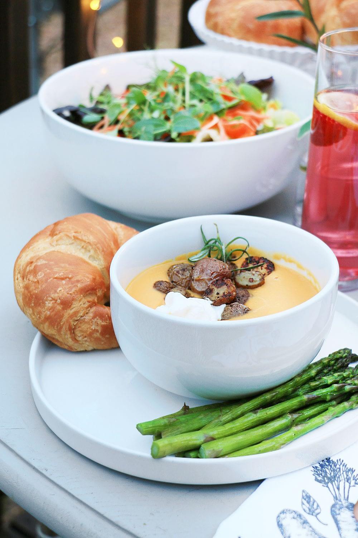 Buttenut squash soup