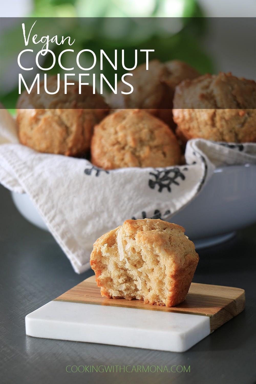 Vegan Coconut Muffins